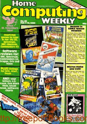 Home Computing Weekly Technology Magazine 048