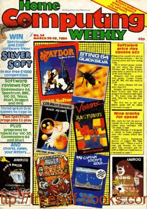 Home Computing Weekly Technology Magazine 054