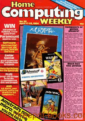 Home Computing Weekly Technology Magazine 058