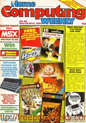 Home Computing Weekly Technology Magazine 064