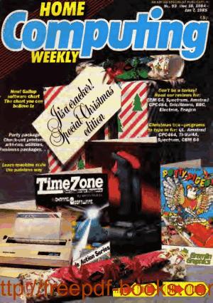 Home Computing Weekly Technology Magazine 093