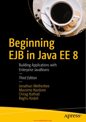 Beginning EJB in Java EE 8 3rd Edition Book 2018 year