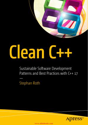 Clean Cpp Book 2018 year