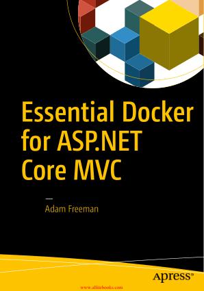 Essential Docker for ASP.NET Core MVC Book 2018 year