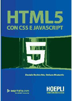 HTML5 con CSS e JavaScript PDF