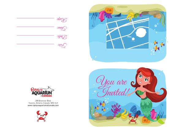 Free Download PDF Books, Girl Birthday Party Invitation Template Word | PDF
