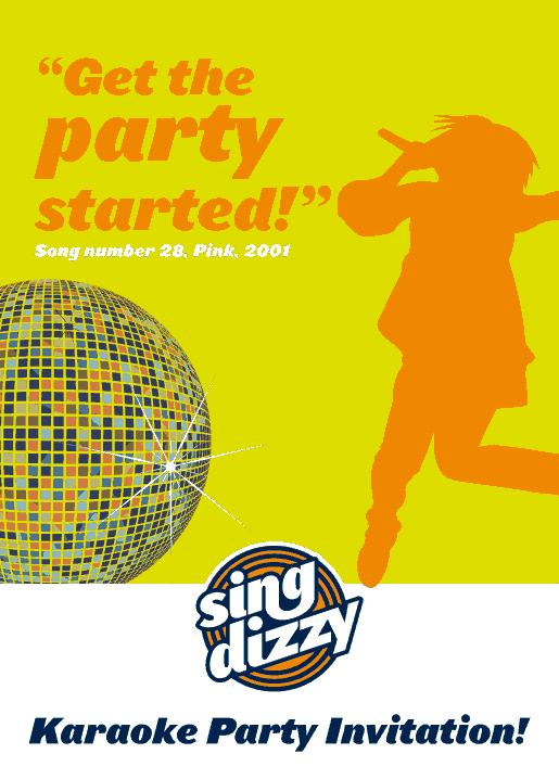 Free Download PDF Books, Karaoke Party Invitation Template Word | PDF