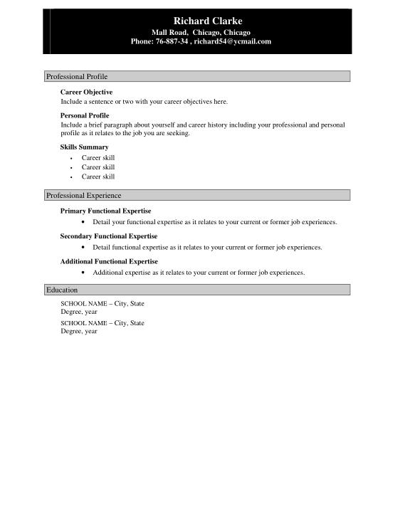 Free Download PDF Books, Sample Accountant Resume Template Word | PDF