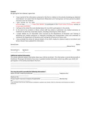 Free Download PDF Books, Permission Slip Template Word | PDF