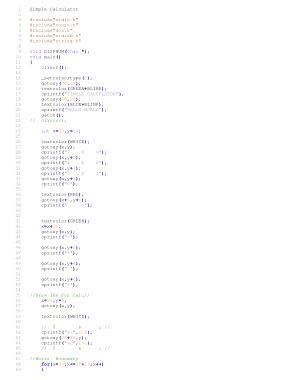 Free Download PDF Books, C++ Program to Make Simple Calculator | C++ Algorithms Example