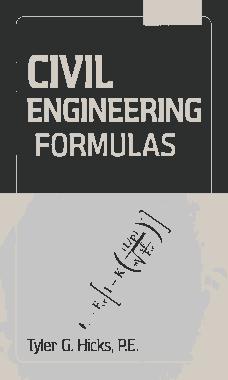 Civil Engineering Formulas 2nd Edition