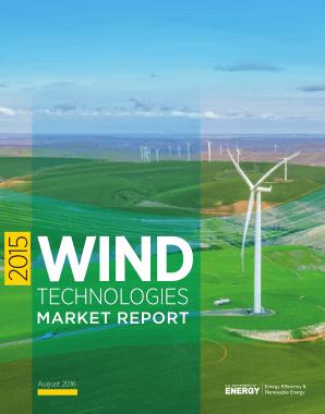 Free Download PDF Books, Wind Technologies Market Report Wind Energy
