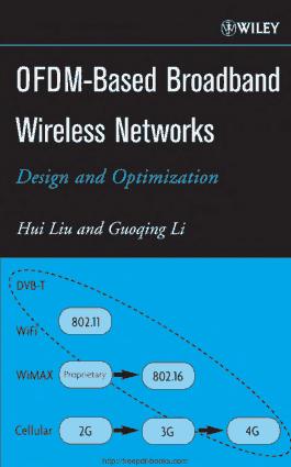 OFDM-Based Broadband Wireless Networks