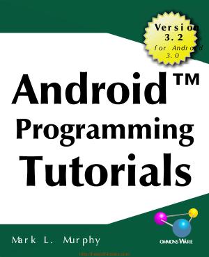 Android Programming Tutorials 3rd Edition