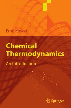 Chemical Thermodynamics An Introduction