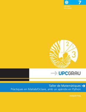 Free Download PDF Books, Taller de Matem tiques Pr ctiques en MATLAB Octave amb un ap ndix en Python