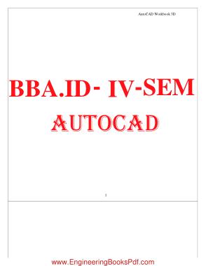 BBA ID IV SEM AUTOCAD