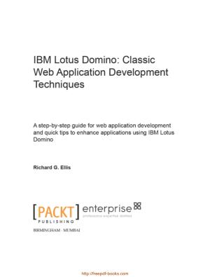 IBM Lotus Domino – Classic Web Application Development Techniques