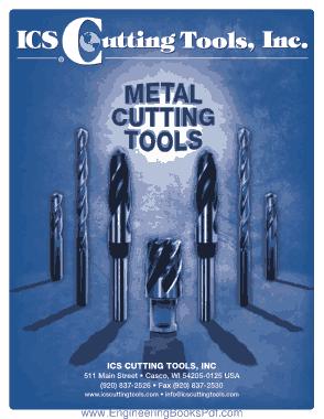 Free Download PDF Books, ICS Cutting Tools Inc
