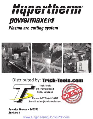 Plasma arc cutting system