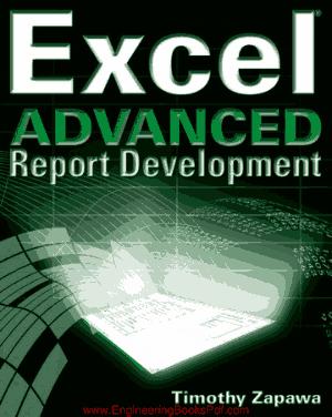 Excel Advanced Report Development