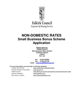Free Download PDF Books, Business Bonus Scheme Application Form Template