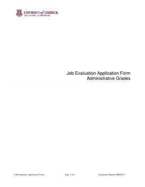 Free Download PDF Books, Job Evaluation Application Form Template