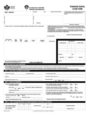 Free Download PDF Books, Dental Insurance Claim Form Template