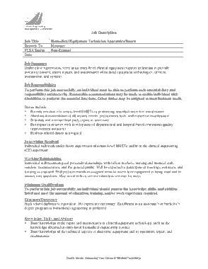 Free Download PDF Books, Biomedical Equipment Technician Job Description Template