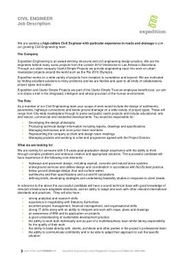 Free Download PDF Books, Civil Engineer Job Description Template
