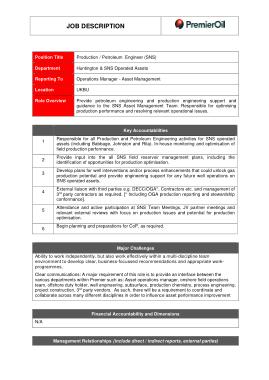 Free Download PDF Books, Sample Petroleum Engineer Job Description Template