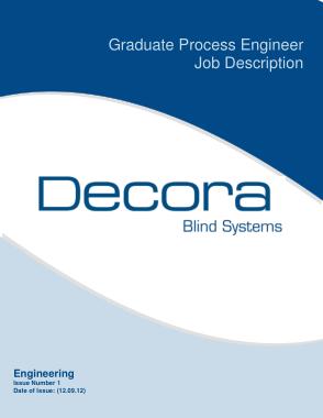 Free Download PDF Books, Graduate Process Engineer Job Description Template