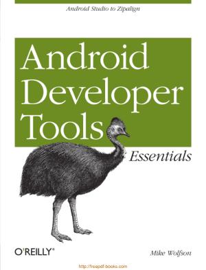 Android Developer Tools Essentials, Android Book App Maker