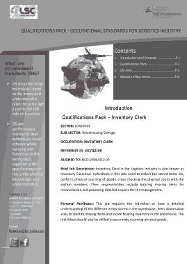 Free Download PDF Books, Logistics Inventory Clerk Job Description Template