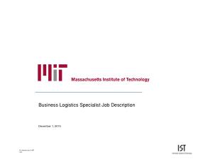 Free Download PDF Books, Business Logistics Specialist Job Description Template