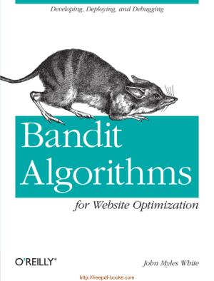 Bandit Algorithms For Website Optimization Ebook