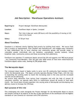Free Download PDF Books, Warehouse Operations Associate Job Description Template