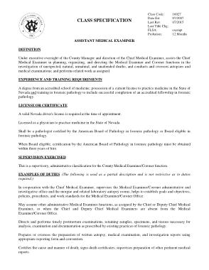 Free Download PDF Books, Assistant Medical Examiner Job Description