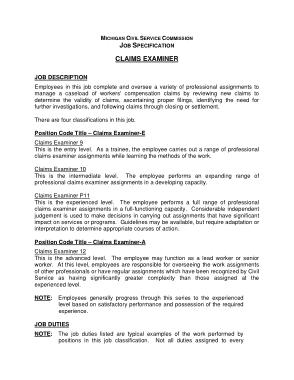 Free Download PDF Books, Civil Service Medical Examiner Job Description