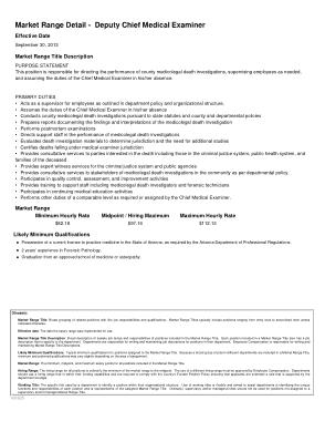 Free Download PDF Books, Deputy Chief Medical Examiner Job Description