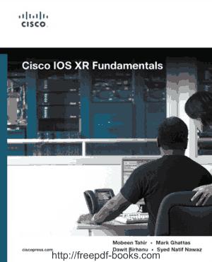 Cisco Ios Xr Fundamentals Book, Pdf Free Download