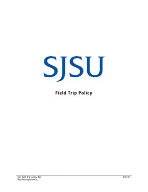 Free Download PDF Books, SJSU Basic Field Trip Policy Template