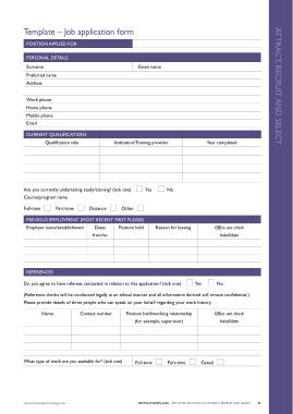 Free Download PDF Books, Free Job Application Form Template