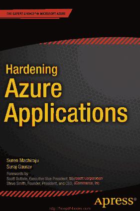 Free Download PDF Books, Hardening Azure Applications