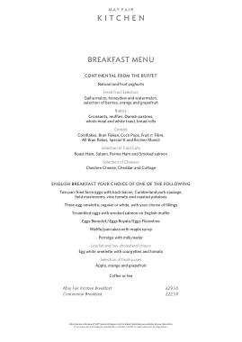 Free Download PDF Books, Spectacular Breakfast Menu Template