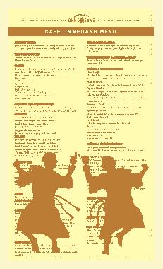 Free Download PDF Books, Sample Food Menu Template