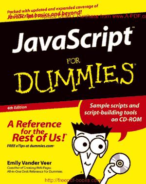 JavaScript For Dummies 4th Edition