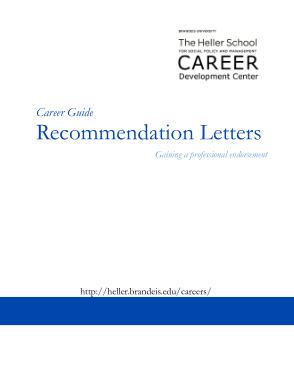 Free Download PDF Books, Graduate School Professor Recommendation Letter Template