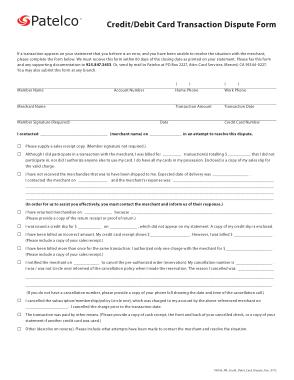 Free Download PDF Books, Debit Card Dispute Form Template
