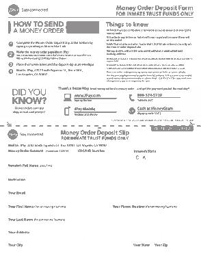 Free Download PDF Books, Money Order Deposit Form Template